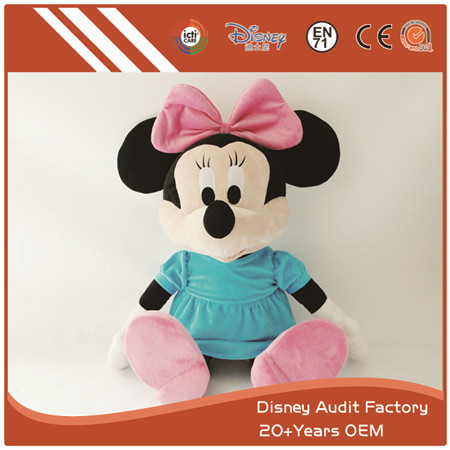 Minnie Plush Doll, 100% PP Cotton Filling