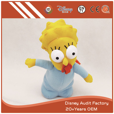 The Simpsons Plush Dolls, Maggie Simpson Plush Doll