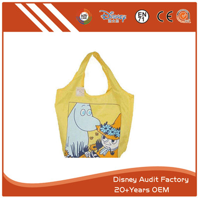 Folding Cartoon Vest Bags Embroidery Screen Printing Pantone Color