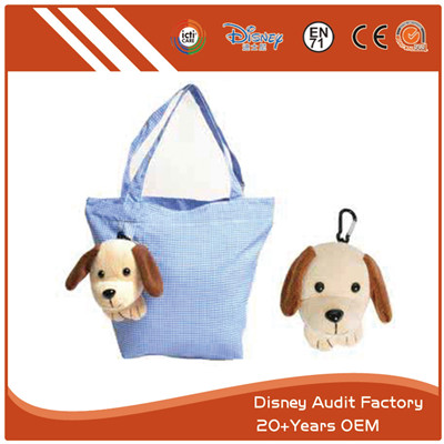 Folding Shopping Bag Embroidery Screen Printing Pantone Color