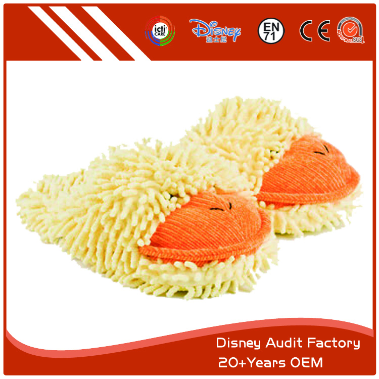 Fuzzy Duck Slippers Wholesale