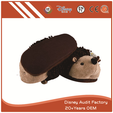 Fuzzy Hedgehog Slippers Wholesale