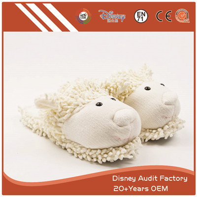 Fuzzy Sheep Slippers, Indoor Slippers