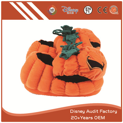 Pumpkin Slippers, Cute House Slippers