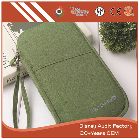 Canvas Passport Holder with High Quality