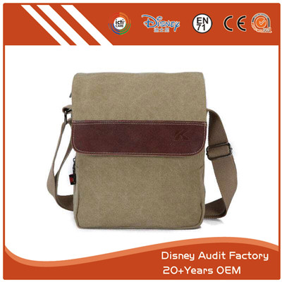 Custom Men Canvas Bag 25CM X 25CM Stylish Bags Pantone Color