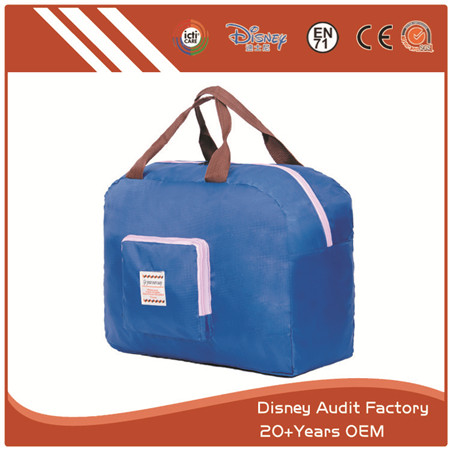 Polyester Travel Bags, PU, Canvas, Cotton Materials Available