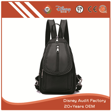 PU Backpack, Made of High Quality PU Leather, Durable in Use