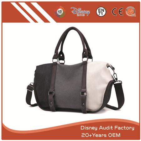 Shoulder Tote Bag, Canvas, Large Size, Adjustable Straps, Custom