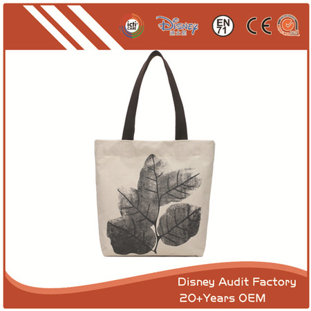 White Tote Bag, Canvas Material, Special Design