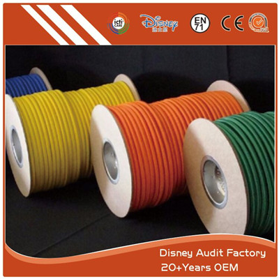 Custom Color Round Elastic Rope Waterproof Treated Custom