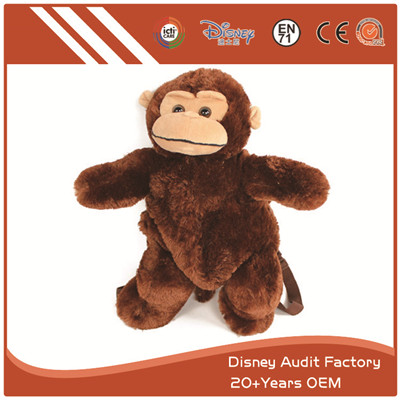 Monkey Animal Backpack Super Comfortable Custom