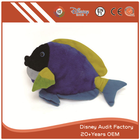Fish Plush Toy, 100% PP Cotton
