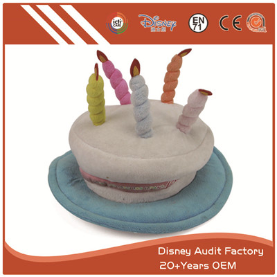 Plush Cake Hat Short Fiber Best Party Decorations