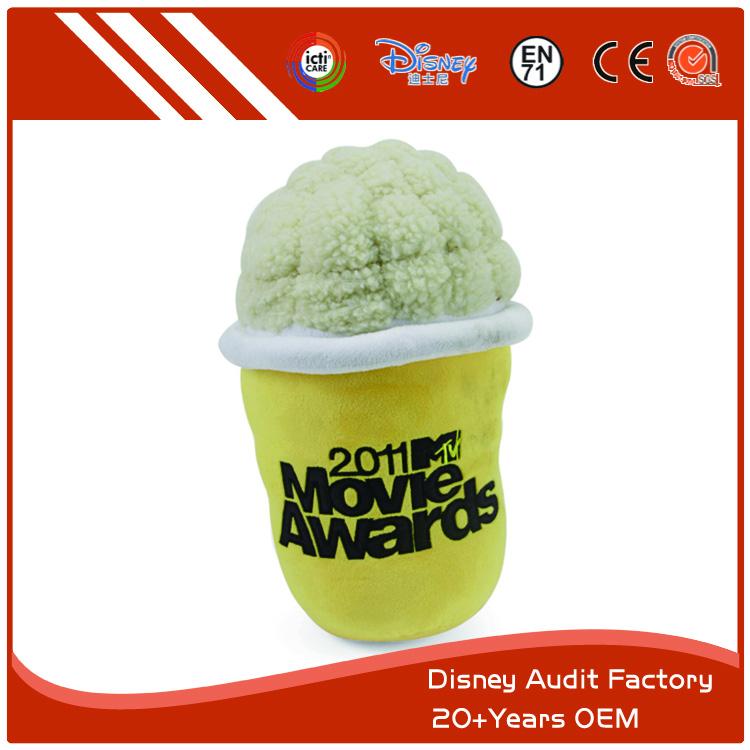 Ice Cream Plush Toy, Stuffed Toy, 100% PP Cotton, 10CM