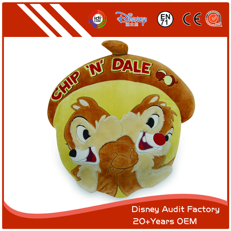 Chip and Dale Plush Throw Pillow