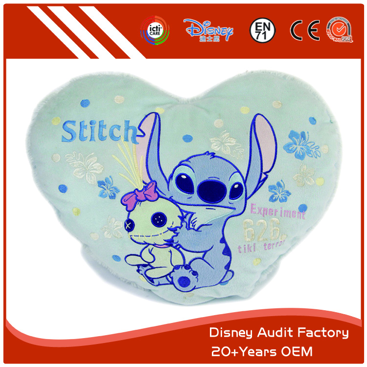 Disney Stitch Folding Throw Pillow