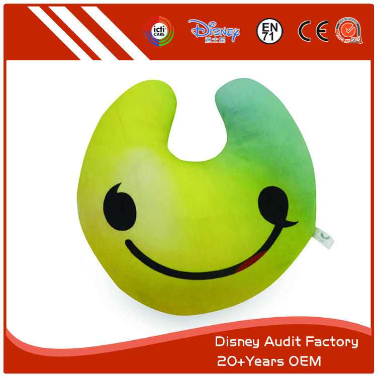 Smiley Face Throw Pillow for Couch