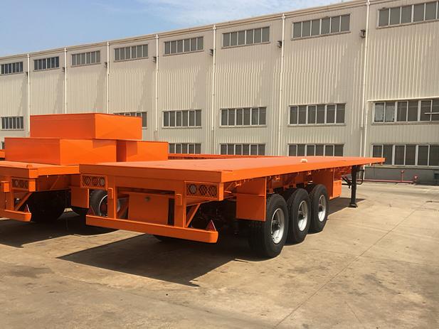 40 ft Skeleton Trailer, Tri-Axle, GVWR 46 Ton, Tare Weight