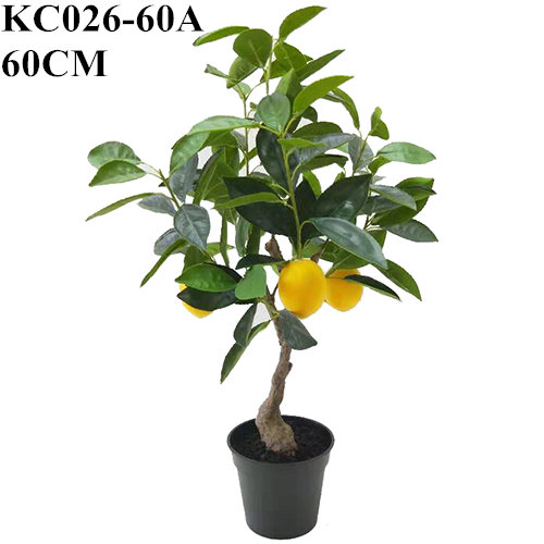 Faux Lemon Bonsai Artificial Lemon Tree 60 Cm 90 Cm Sharetrade