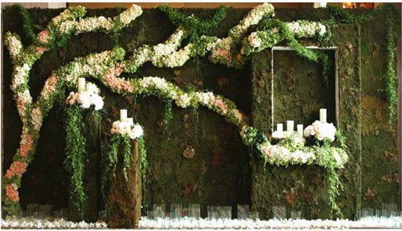 Artificial Plants for Store Decoration