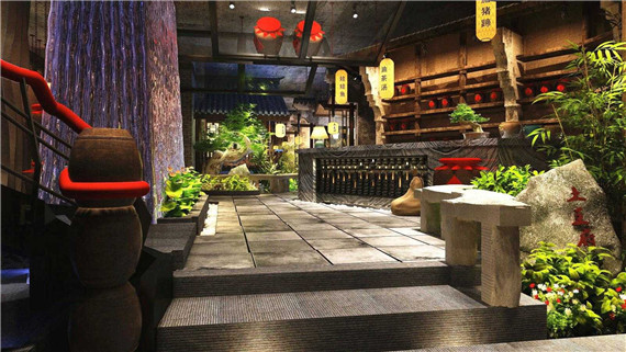 artificial plant for cafe decoration