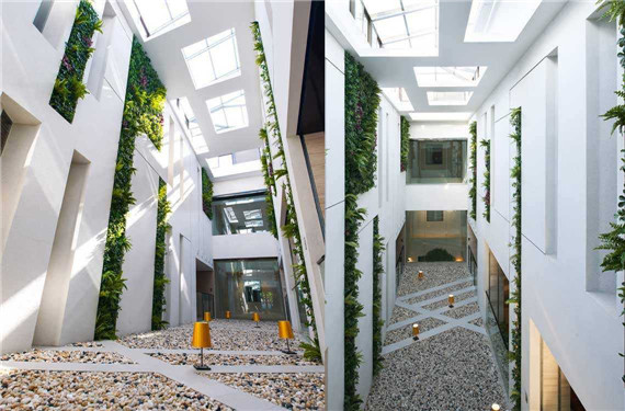 artificial plant for library decoration