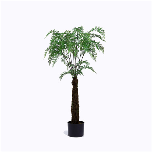 Artificial Tropical Fern Palm Tree Bonsai