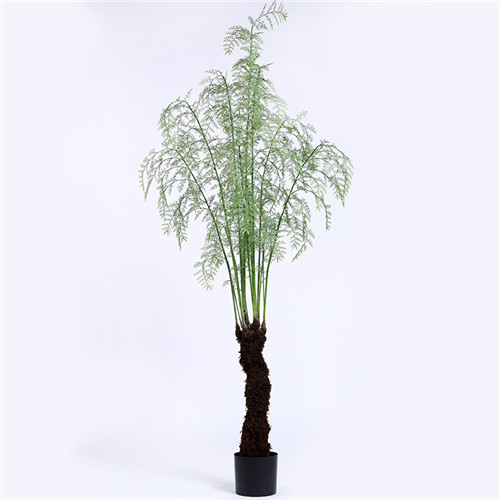 Faux Fern Plant, Made of Silk, Plastic and Other Materials, 210CM