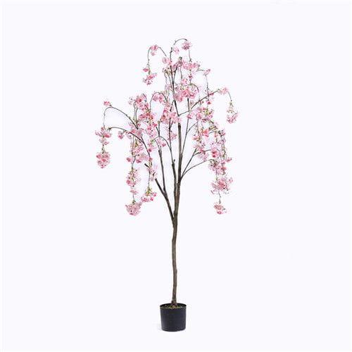 Plastic Cherry Blossom Tree