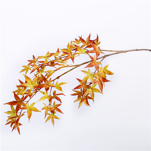 Artificial Maple Leaf Branch