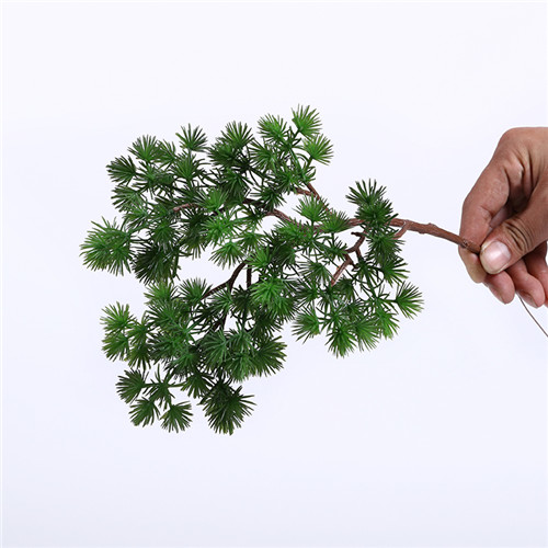 Artificial Small Pine Trees, Silk And Plastic Material, 35CM