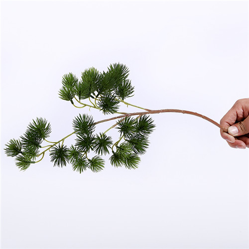 Silk Pine Tree, Artificial Greenery, Single Trunk, 50CM