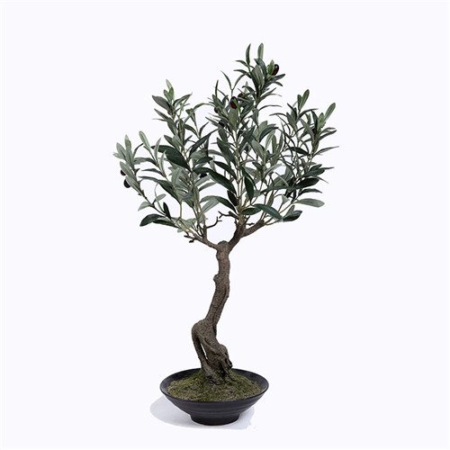 Plastic Olive Tree in Pots