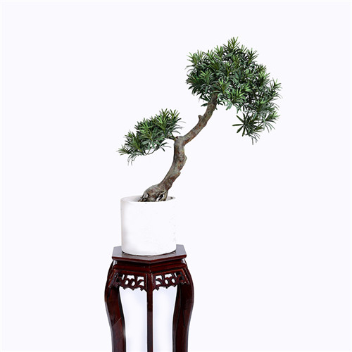 Artificial Pines Bonsai For Interior Landscaping, 80CM
