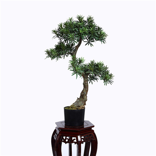 Faux Buddhist Pine Bonsai, Indoor Bonsai, 80CM