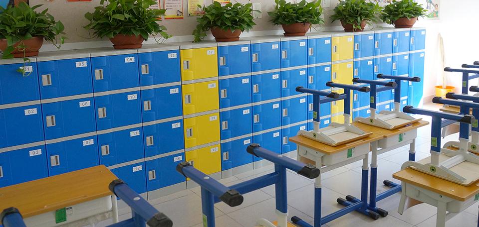 T-382E ABS plastic?locker?used as school hallway lockers?indoors