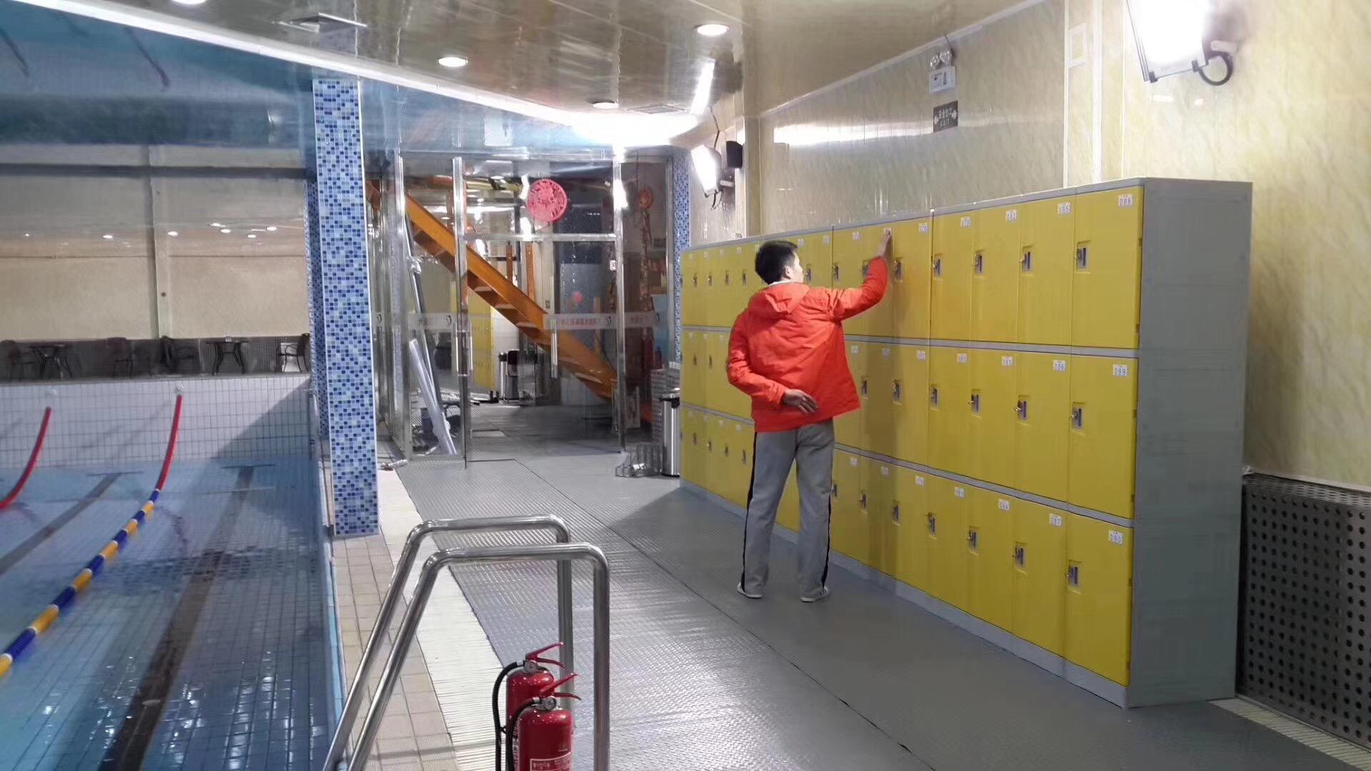 T-382M ABS plastic swimming pool lockers?waterproof, anti-corrosion