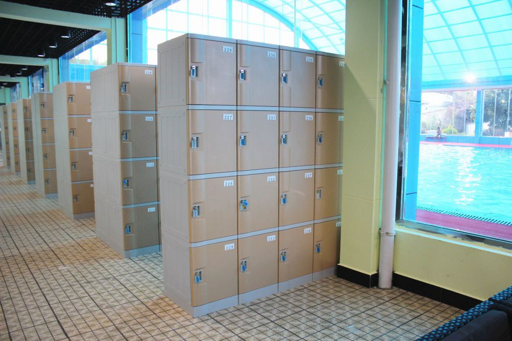 T-382S?ABS?plastic locker?used as swimming pool lockers school lockers