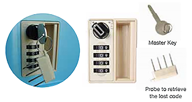 4-digit-code-lock-with-master-key-and-probe