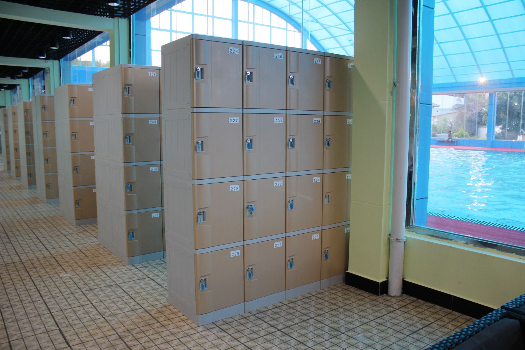 How could you not have Swimming Pool Lockers?