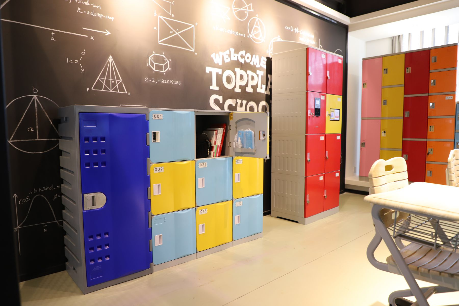 Toppla Hospital Lockers-High Hygienic & Antibacterial for Hospitals