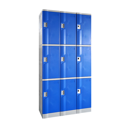 ABS Plastic Locker T-320M-42: 3-Tiers, For School, Swimming Pool