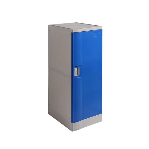 ABS Plastic Locker T-382L: Double Tiers, Flexible Combination