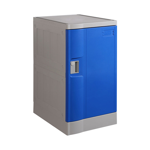 ABS Plastic Locker T-382M: Triple Tiers, Flexible Configurations