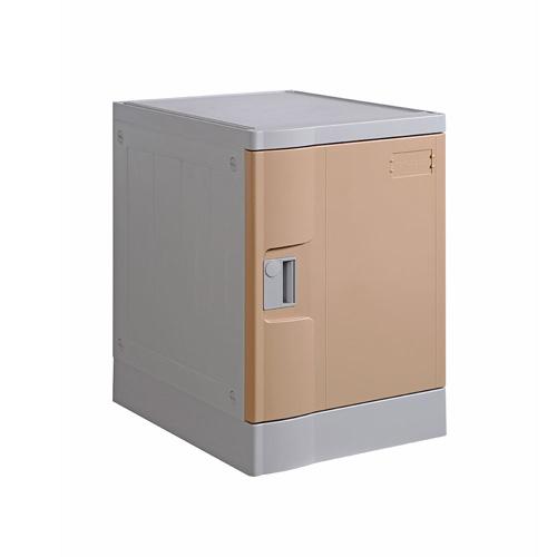 ABS Plastic Locker T-382S: Four Tiers, Flexible Configurations