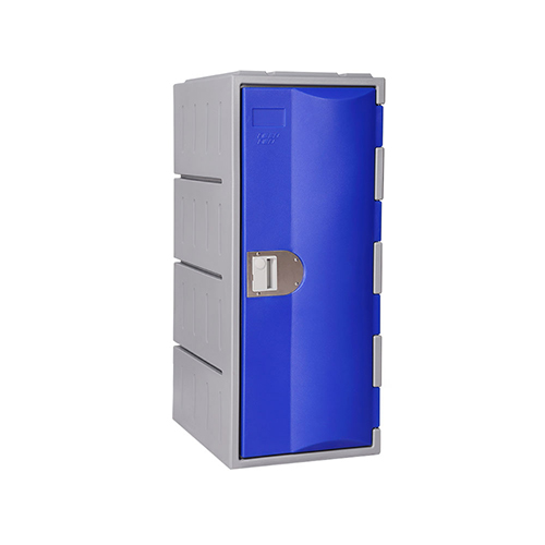 Heavy Duty Plastic Locker T-H385L: HD, Strong HDPE, 1 or 2 Doors