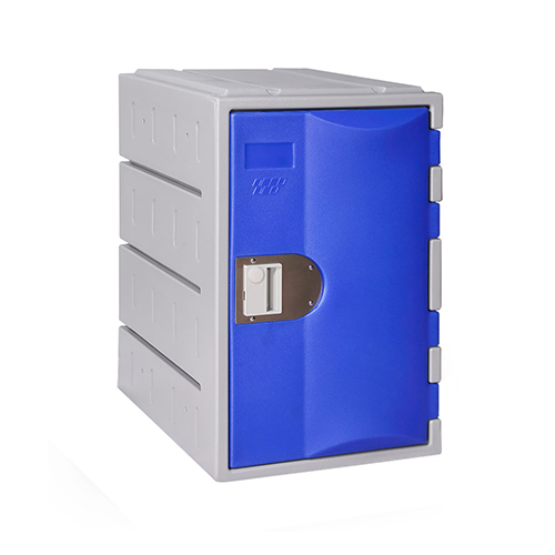 Heavy Duty Plastic Locker T-H385M: HD, Strong HDPE, 1, 2, 3 Doors