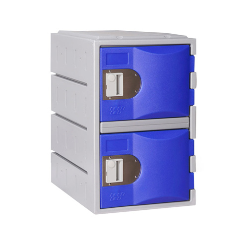 Heavy Duty Plastic Locker T-H385M/2: HD, Strong HDPE, 2, 4, 6 Doors