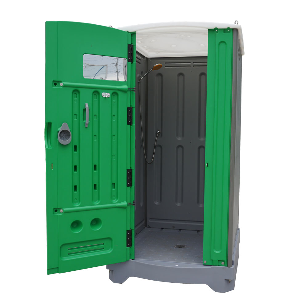 TPS-H01 Portable Shower Room, Outdoor Movable Bathroom, HDPE Plastic